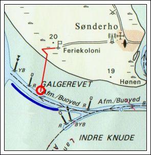 Kort over galgerev sæslafari - www.vangelyst.dk