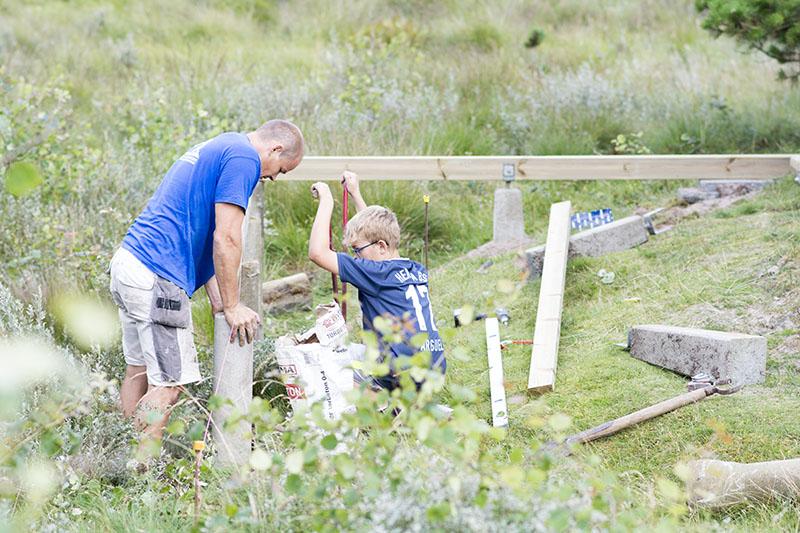 Ny terrasse sommerhus - www.vangelyst.dk