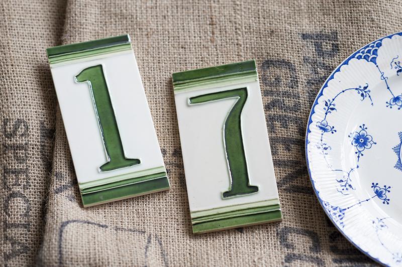 Fliser med husnumre - www.vangelyst.dk