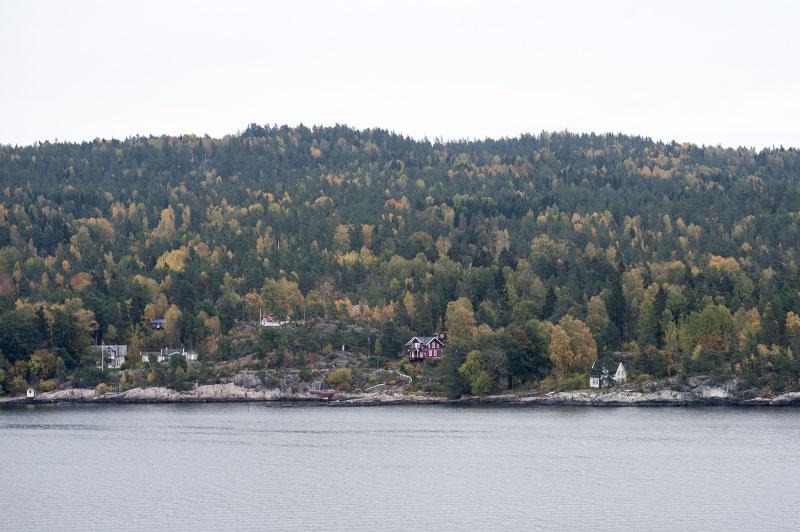 Oslo Norge udsigt fjord
