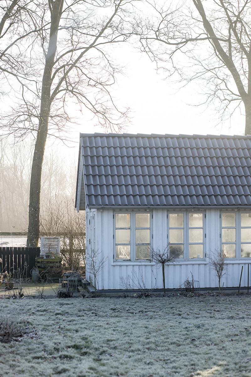 Havehus frost morgen - www.vangelyst.dk