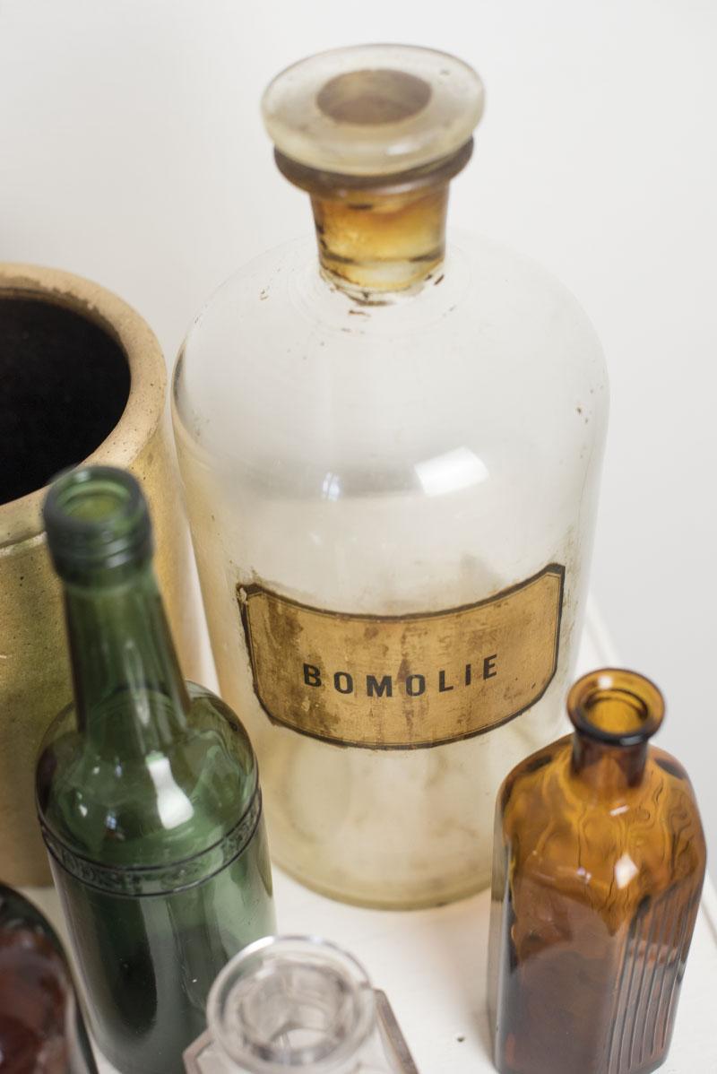 Bomolie apotekerglas - www.vangelyst.dk