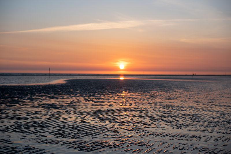 Solnedgang på Fanø